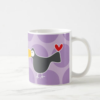 Cartoon Toucan Kid Cute Fun Custom Gift Mug