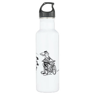 Cartoon Triathlon 710 Ml Water Bottle
