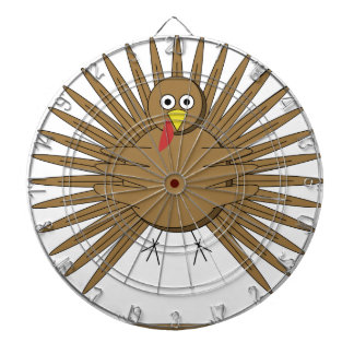Cartoon Turkey Dartboard