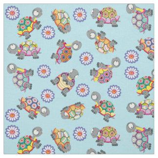 cartoon turtles fabric