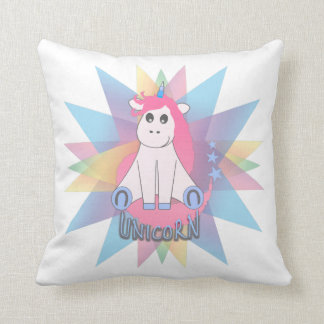 Cartoon Unicorn Cushion