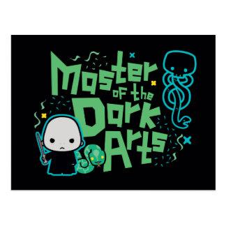 Cartoon Voldemort - Master of the Dark Arts Postcard