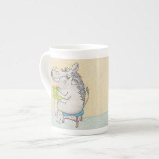 Cartoon Warthog mug. Tea Cup