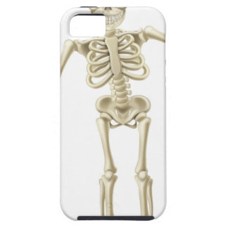 Cartoon Waving Skeleton Character iPhone 5 Covers