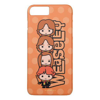 Cartoon Weasley Siblilings Graphic iPhone 8 Plus/7 Plus Case