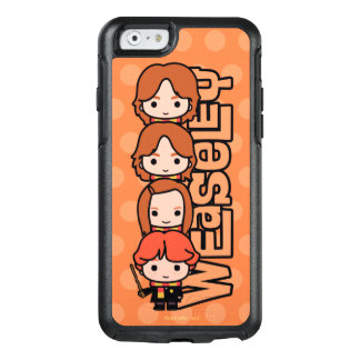 Cartoon Weasley Siblilings Graphic OtterBox iPhone 6/6s Case