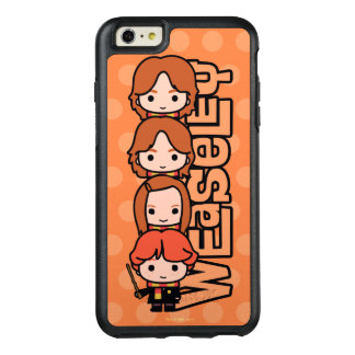 Cartoon Weasley Siblilings Graphic OtterBox iPhone 6/6s Plus Case