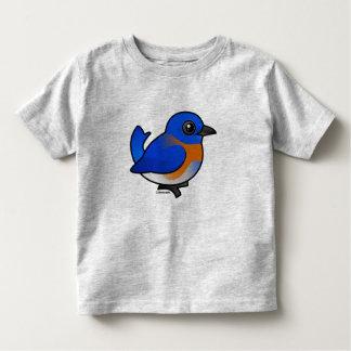 Cartoon Western Bluebird Toddler T-Shirt