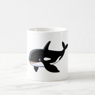 cartoon whale White 11 oz Classic Mug