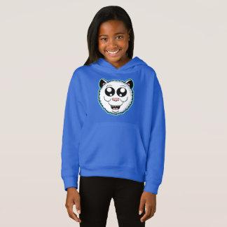 Cartoon White Cat Head Sweater