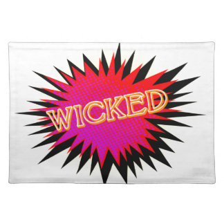 Cartoon Wicked Placemat