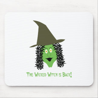Cartoon Wicked Witch Mouse Pad