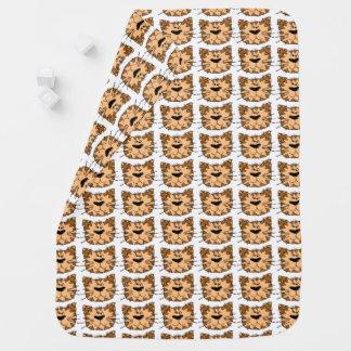 Cartoon Wild Tiger Cat Baby Blanket