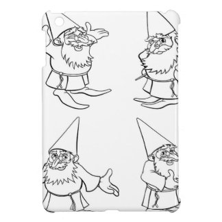 Cartoon Wizard Set iPad Mini Cases