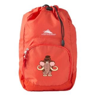 Cartoon Woolly Mammoth Backpack