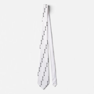 Cartoon Wrench Tie
