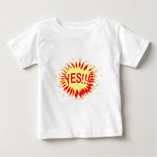 Cartoon Yes Baby T-Shirt