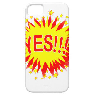 Cartoon Yes Barely There iPhone 5 Case