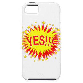 Cartoon Yes Case For The iPhone 5