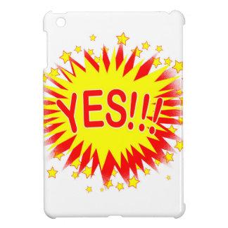 Cartoon Yes iPad Mini Case