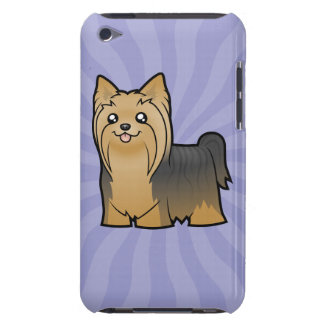 Cartoon Yorkshire Terrier (long hair no bow) Barely There iPod Cases