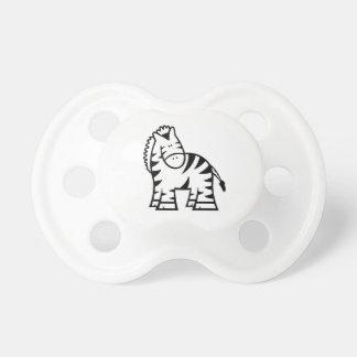Cartoon Zebra Baby Pacifier