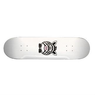 Cartoon Zebra Skateboards
