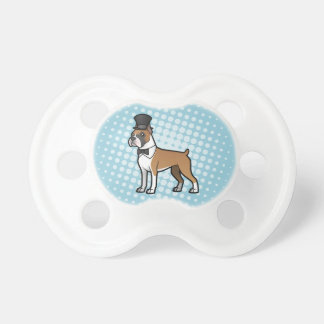 Cartoonize My Pet Baby Pacifier