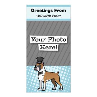Cartoonize My Pet Customised Photo Card