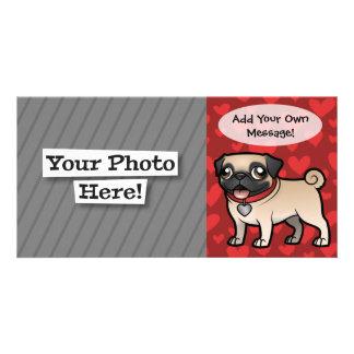 Cartoonize My Pet Photo Card