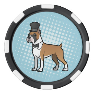 Cartoonize My Pet Set Of Poker Chips