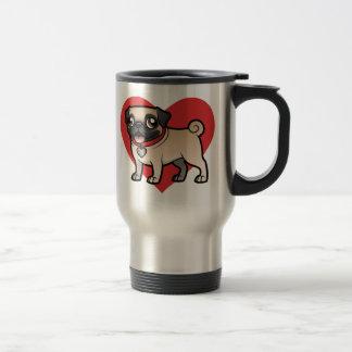 Cartoonize My Pet Stainless Steel Travel Mug