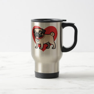 Cartoonize My Pet Travel Mug