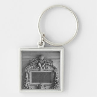 Cartouche from the Caryatids' Tribune Keychains