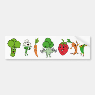 Cartton kids objects 22, Cartton kids objects 2... Bumper Sticker