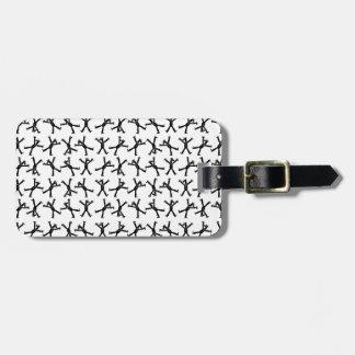 Cartwheel Unicorn Luggage Tag