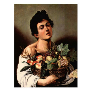 Carvaggio Art Work Postcard