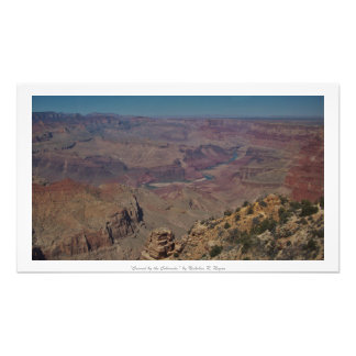 """""""Carved by the Colorado,"""" Grand Canyon Photo Print"""