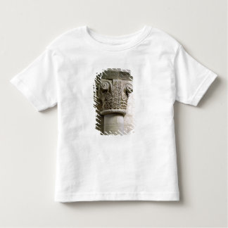 Carved column decorated with croziers and spirals toddler T-Shirt