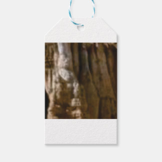 carved muscles in rock gift tags