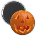 Carved Pumpkin Halloween Magnet