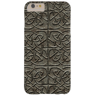 Carved Stone Connected Ovals Celtic Pattern Barely There iPhone 6 Plus Case