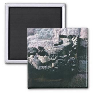 Carved Stone Figure Mayan Ruins Copan Honduras Magnet
