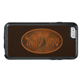 Carved Wood Shema Yisrael OtterBox iPhone 6/6s Case