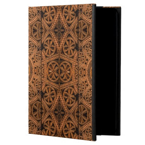 Carved Wood Symmetry iPad Air Case