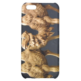 Carved Wooden Camel Cover For iPhone 5C