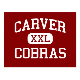 Carver - Cobras - High School - Memphis Tennessee Postcard