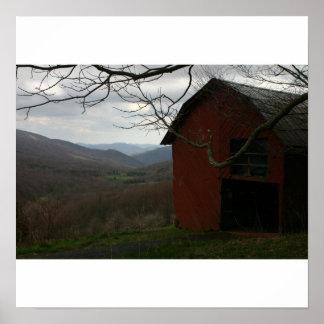 Carver Gap, Appalachian Trail Poster