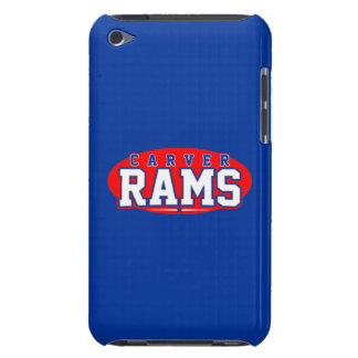 Carver High School; Rams Barely There iPod Case