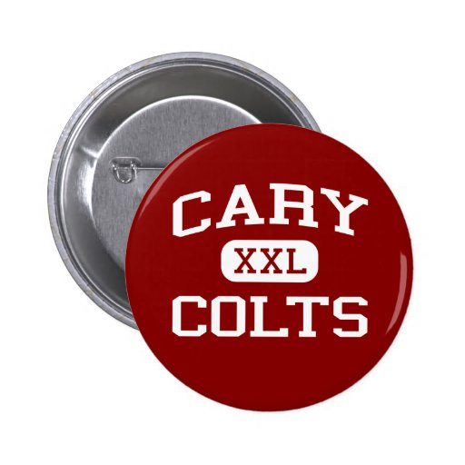 Cary - Colts - Cary Middle School - Dallas Texas Pin